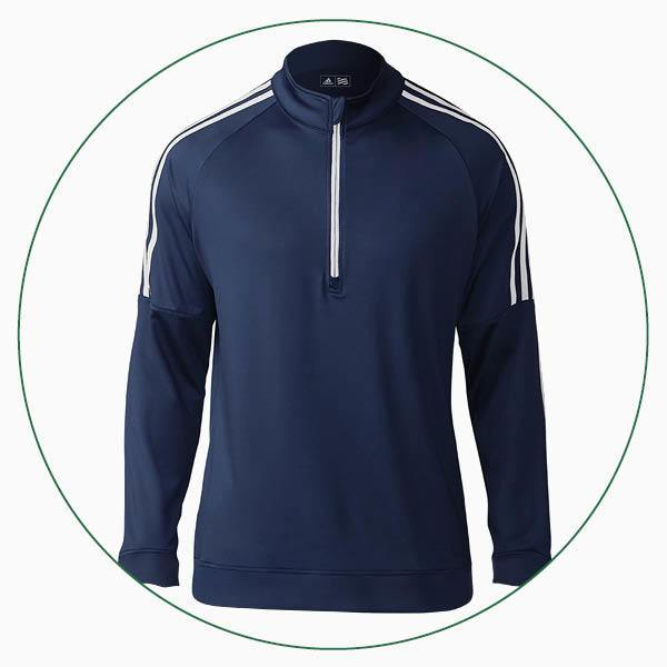 adidas 3-Stripes 1/4 zip sweater
