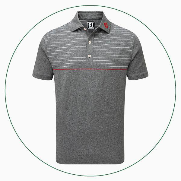 FootJoy Lisle Engineered Pinstripe polo