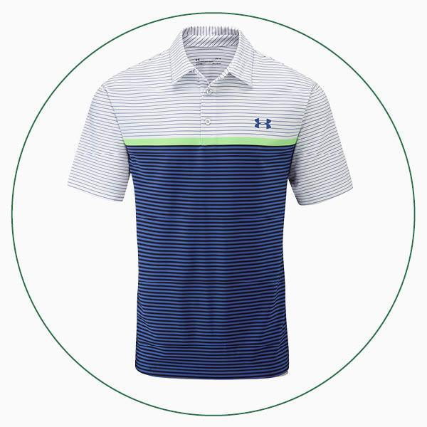 Under Armour Playoff Super Stripe polo