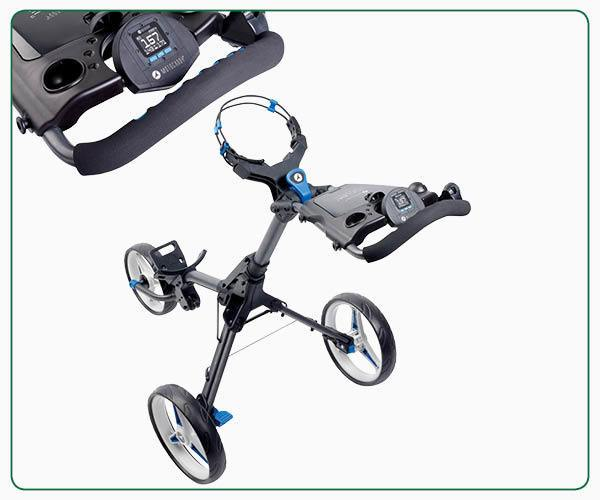 Motocaddy CUBE CONNECT push trolley