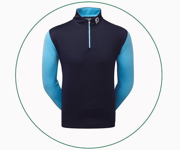 FootJoy Double Layer Contrast Chill-Out pullover