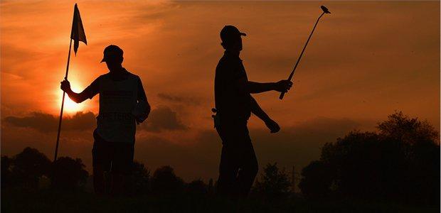 Evening golf