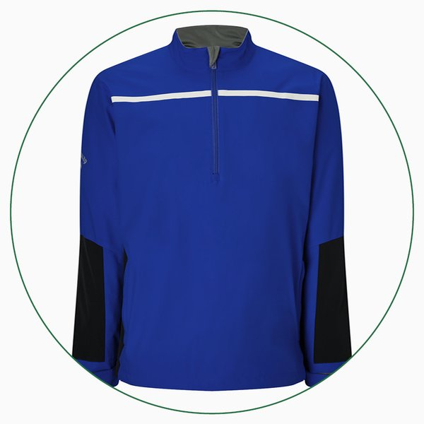 Callaway ¼ Zip Chest Stripe Wind jacket