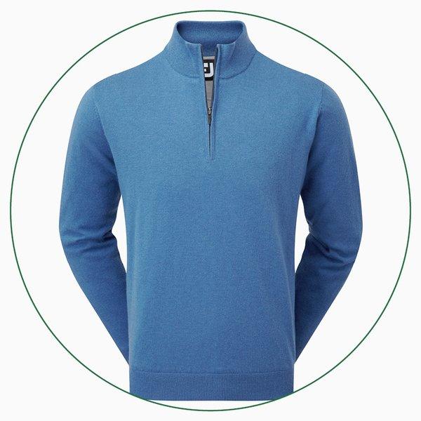 FootJoy Lambswool Lined ½ Zip pullover