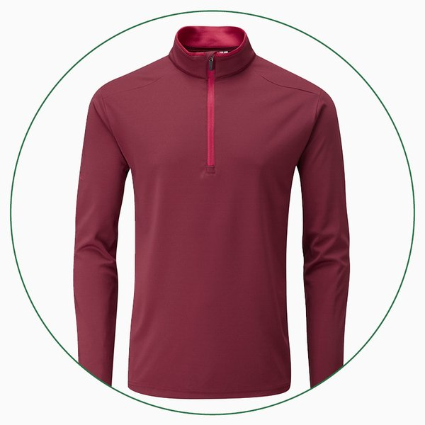 PING Truman ½ zip performance top