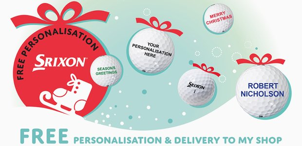 Srixon ball personalisation