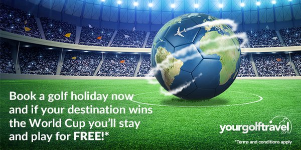 Your Golf Travel's World Cup offer