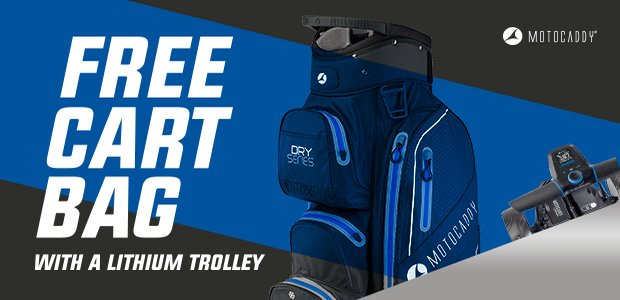 Motocaddy free bag