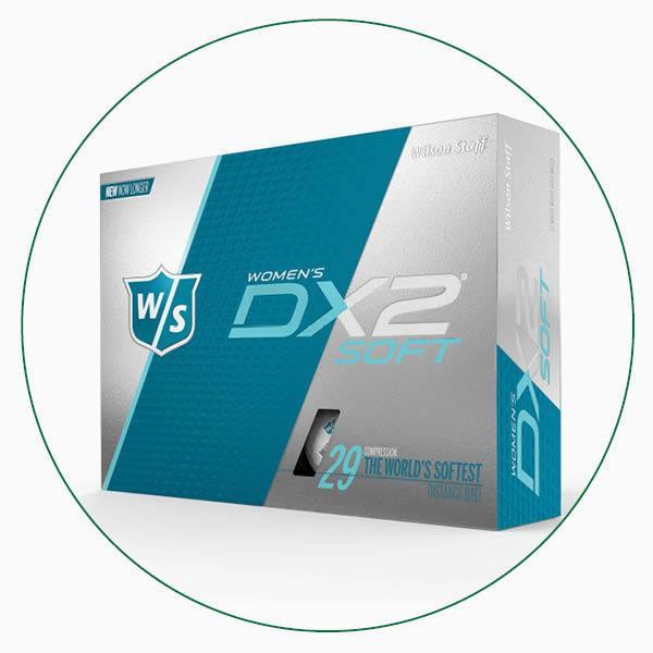 Wilson Staff Women's DX2 Soft