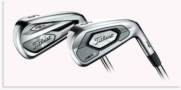 Titleist AP1 and AP3