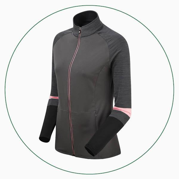 FootJoy ladies Full-Zip French Terry Chill-Out