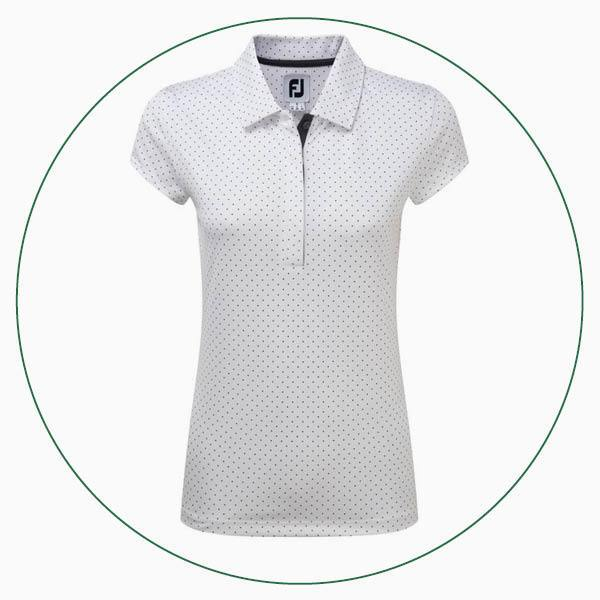 FootJoy ladies Smooth Pique Colour Block polo