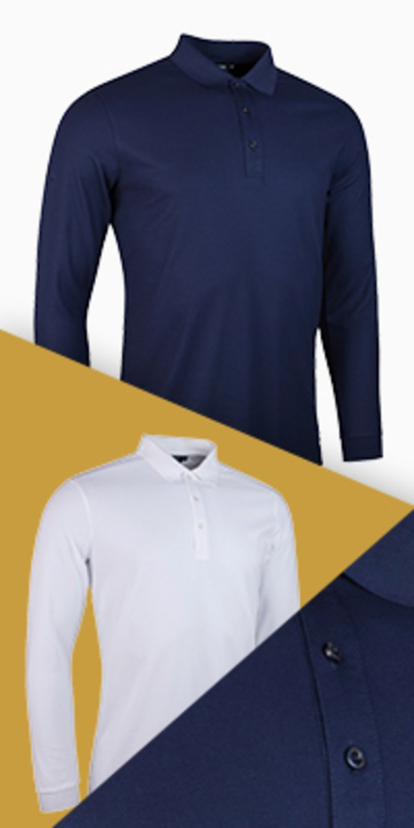 Max Long Sleeve Polo