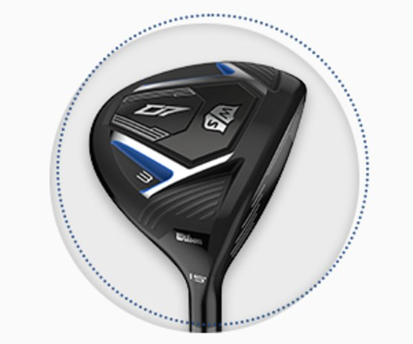 Wilson Staff D7 fairway wood