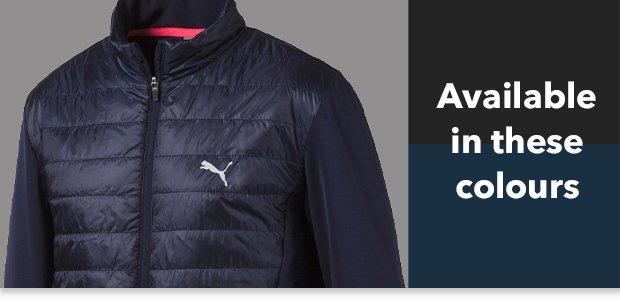 Puma's Quilted PrimaLoft jacket