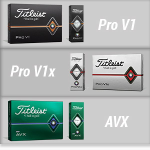 Titleist premium ball range