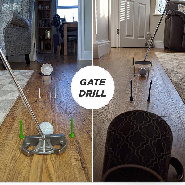 Putting Drill - Putting Gate