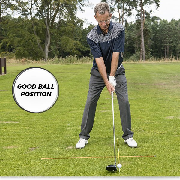 Ball position - spot on