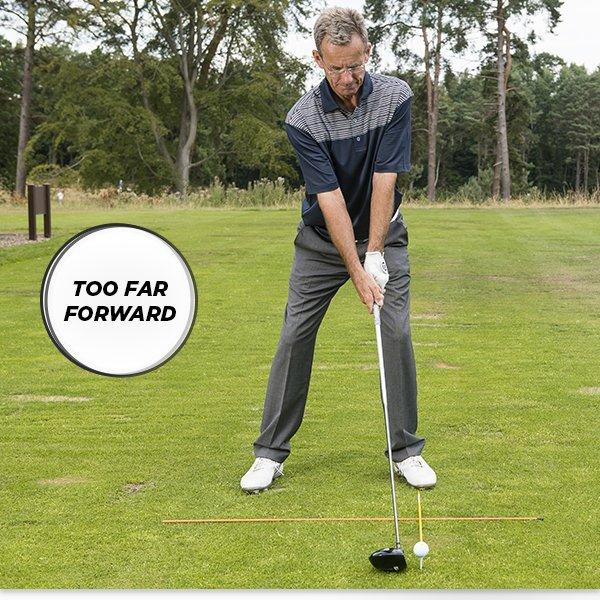Ball position - too far forward