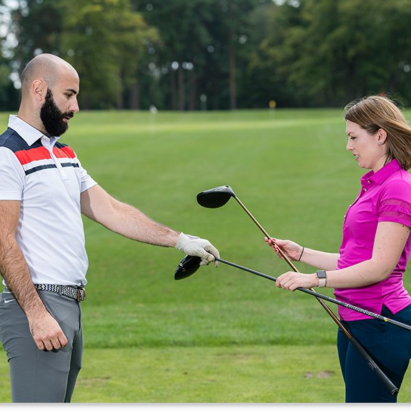Testing Different Golf Clubs
