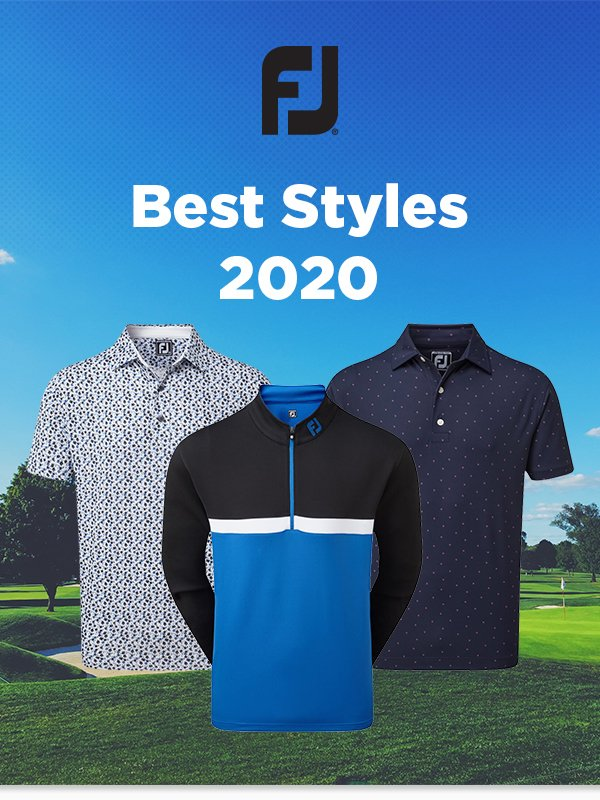 FootJoy golf clothing 2020