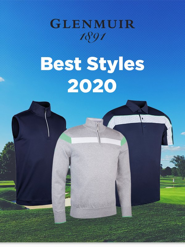Glenmuir golf clothing 2020