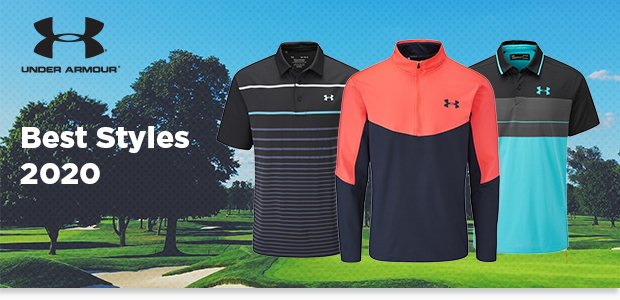 Under Armour golf clothing 2020