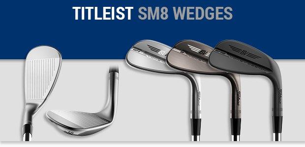 Titleist Vokey SM8 wedges