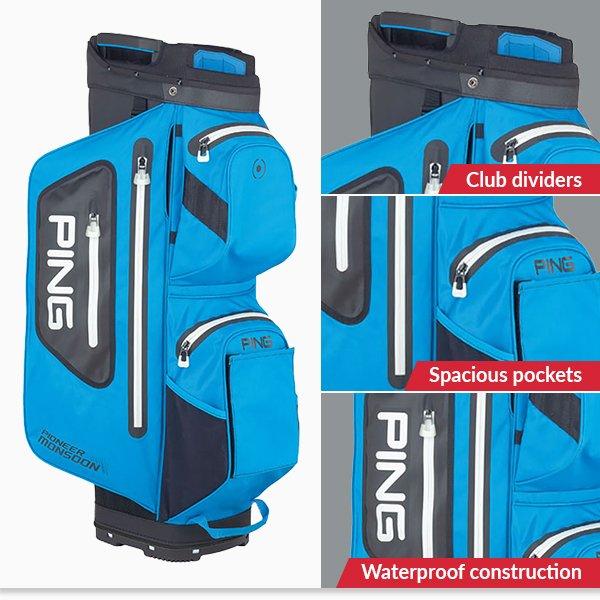 PING Hoofer Monsoon cart bag