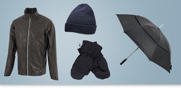 Winter golf clothing