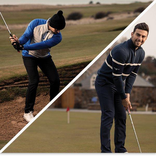 Glenmuir winter golf clothing