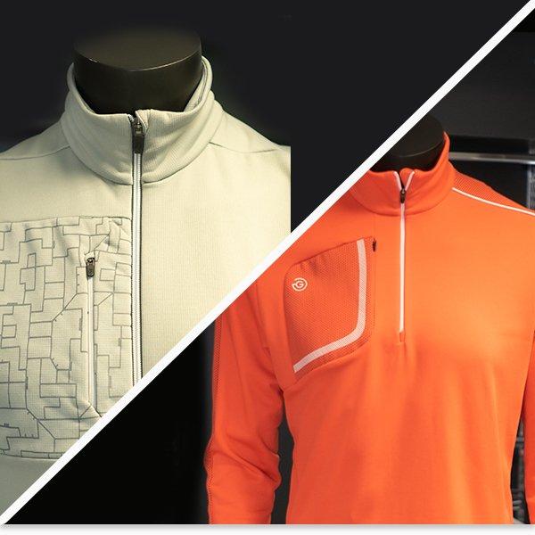 Galvin Green winter golf clothing