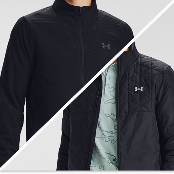 Under Armour winter golf clothing