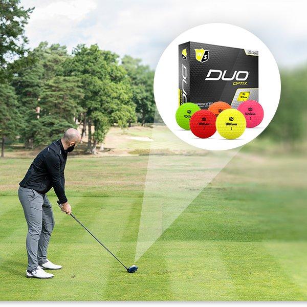 Wilson Staff DUO Optix golf balls