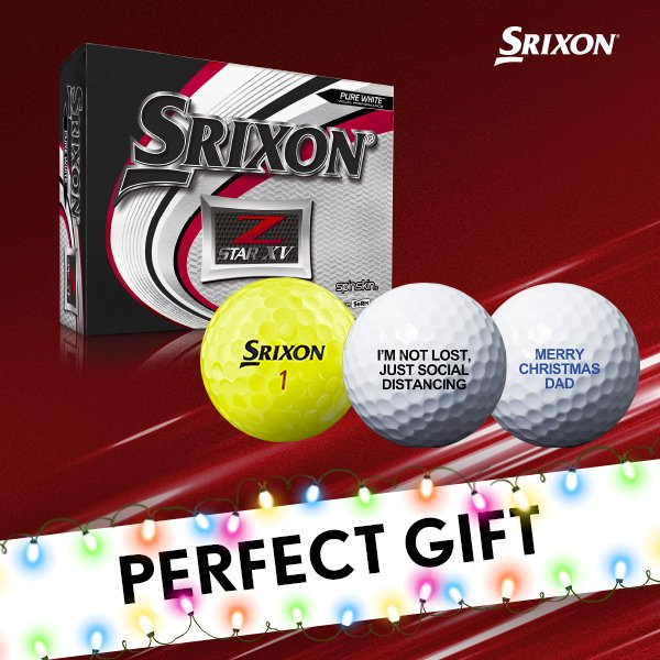 Srixon Z-Star XV golf ball free personalisation