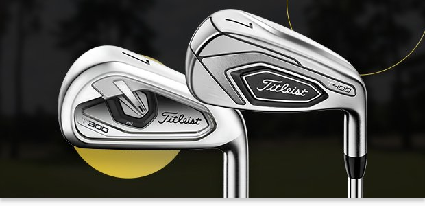 The evolution of Titleist irons to T-Series