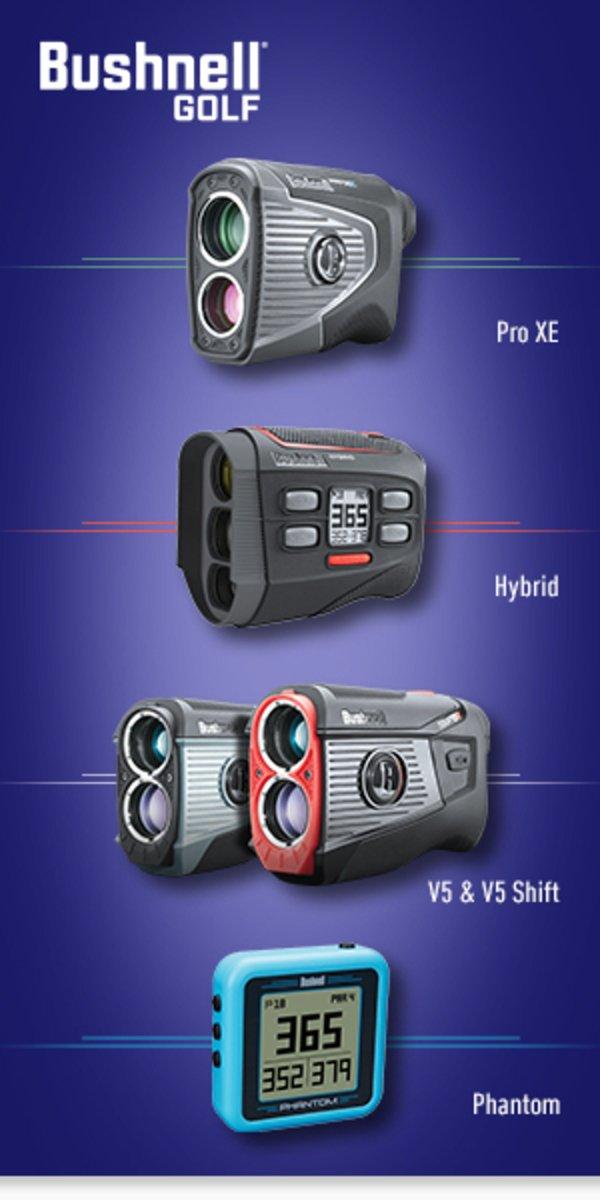 Bushnell laser rangefinder & GPS devices