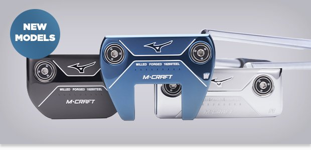 Must try - Mizuno M-Craft putters