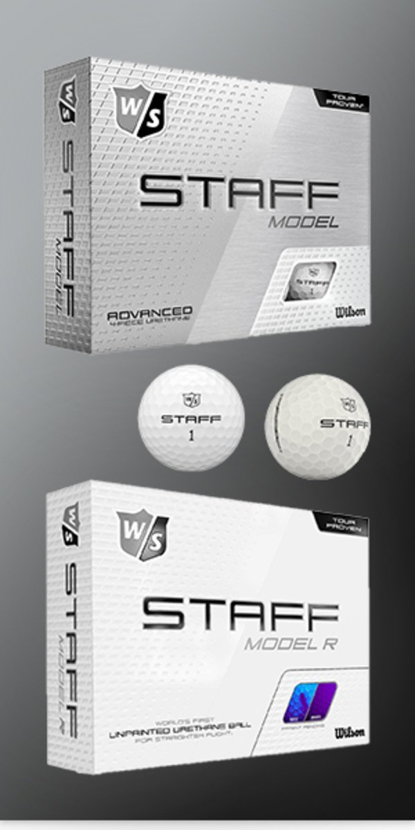 Wilson Staff Model & Staff Model RAW Golf Balls