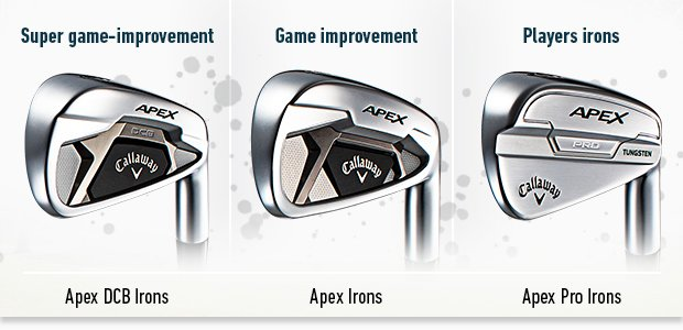 Callaway's brand-new Apex range for 2021