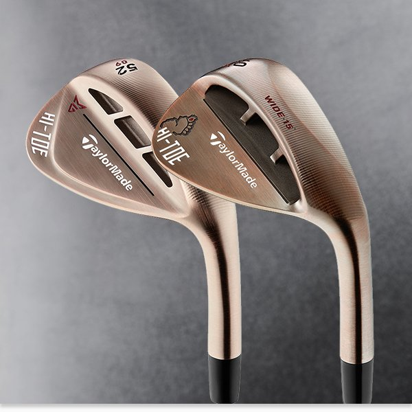 TaylorMade's new wedges