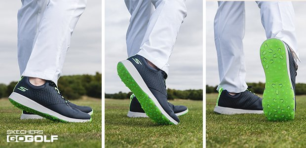 Skechers Elite 4 spikeless golf shoes