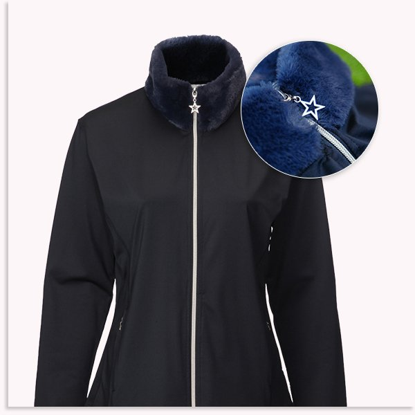 Emilia Fur Collar Jacket