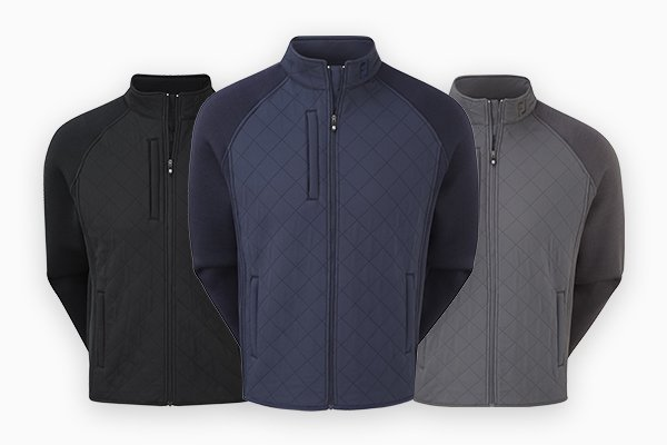 FootJoy Fleece Quilted Jacket