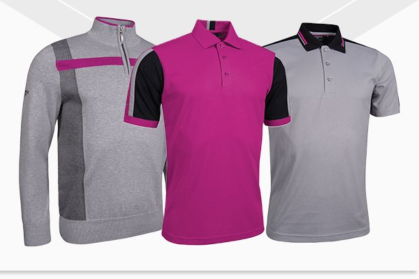 Glenmuir men's apparel