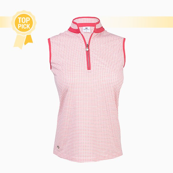 Talia sleeveless polo