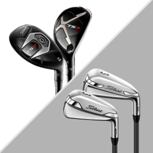 Titleist Utility irons and hybrid