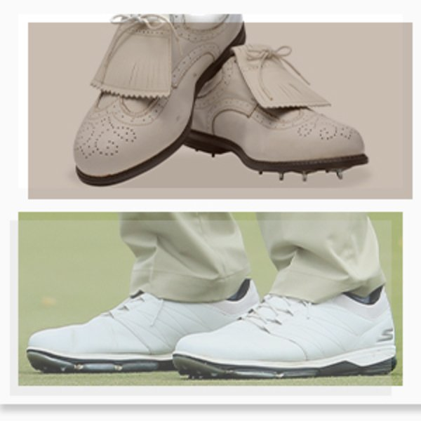 Skechers golf shoes - old vs present