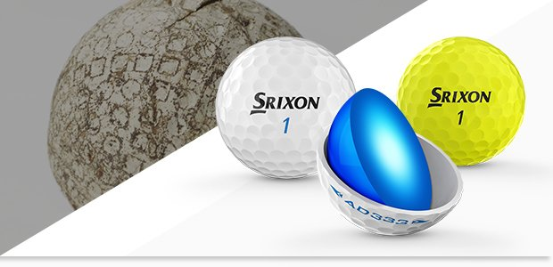 Srixon's AD333 (2019) golf ball