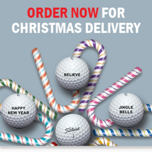 Titleist personlised balls